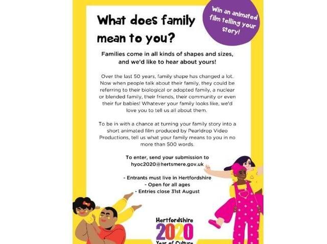 Dacorum Borough Council celebrates 'Family and Friends' month with unique competition