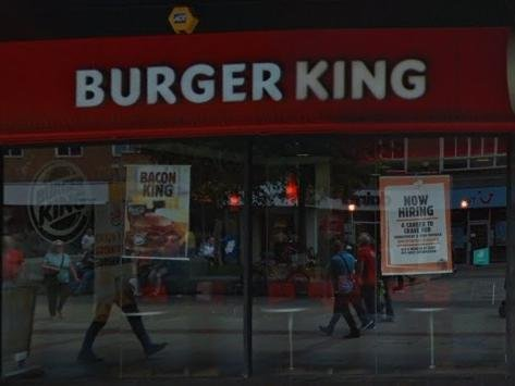Burger King in The Marlowes has re-opened (C) Google Maps