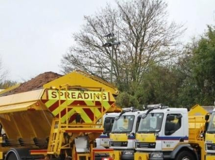 Hertfordshire County Council's fleet of over 58 gritters are on standby