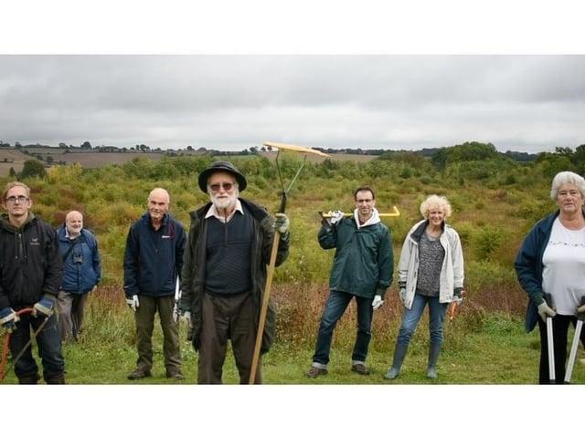 Hemel Hempstead volunteer group wins Countryside Conservation Award