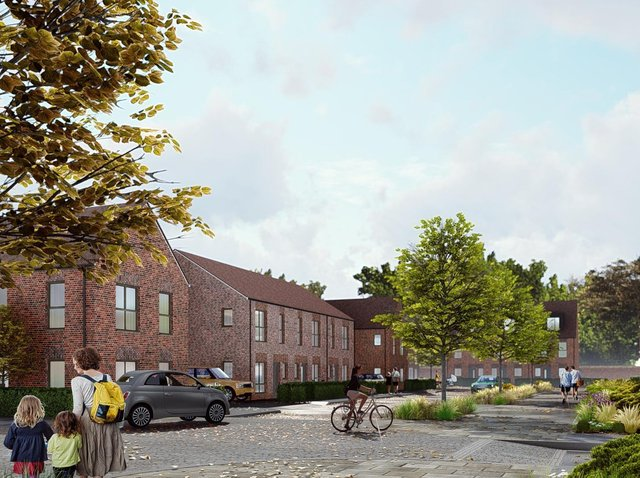 CGI street view of Spencer's Park Phase 2 plans