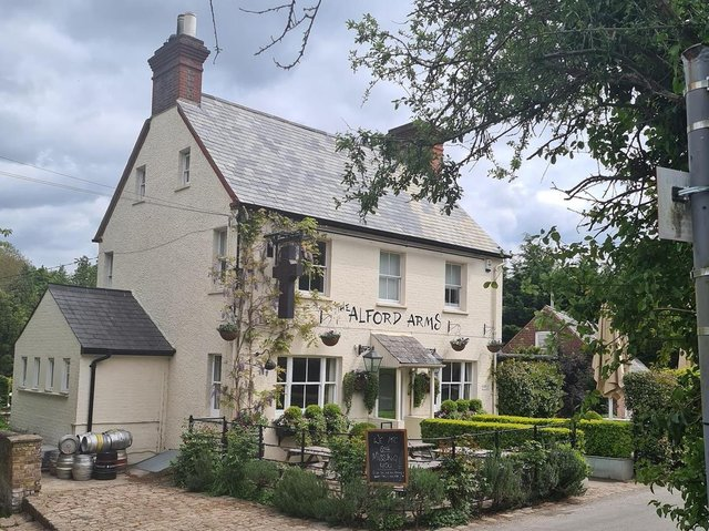 The Alford Arms, in Frithsden, was recognised by the Good Pub Guide