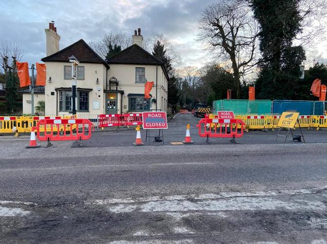 Hemel Hempstead resident calls for rethink of road closures causing 11-mile diversion