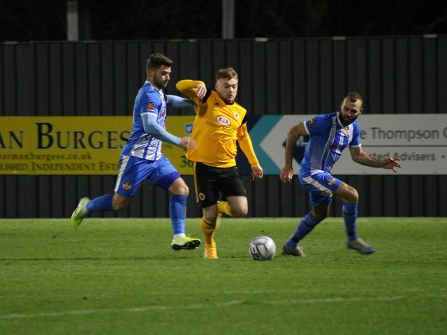 Boston United and Kettering Town are among the step two sides whose season is over. Photo: Oliver Atkin