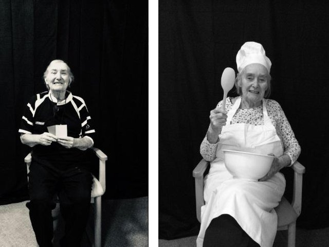 The Lodge Care Home organised a fashion shoot with a 'dream jobs' theme for their residents