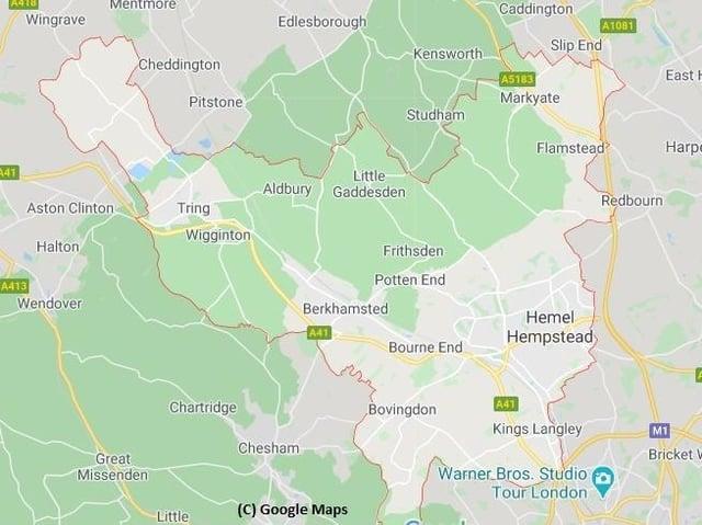 Dacorum (C) Google Maps
