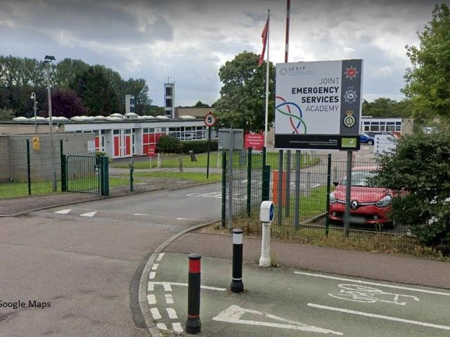 The site at Longfield became a joint training centre for Hertfordshire Fire and Rescue Service and Hertfordshire Constabulary in March 2019 (C) Google Maps
