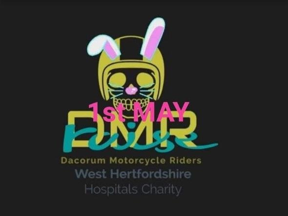 Dacorum Motorcycle Riders are planning to make the journey as 'Bunnies on Bikes' on May 1
