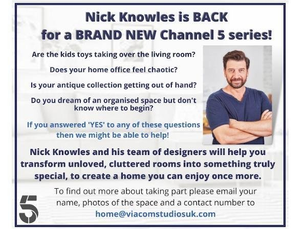 Hemel Hempstead applicants wanted for new Nick Knowles TV show