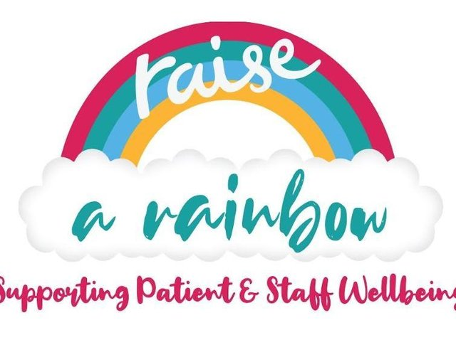 'Raise a Rainbow' wellbeing appeal launched to support hospital staff and patients in west Hertfordshire