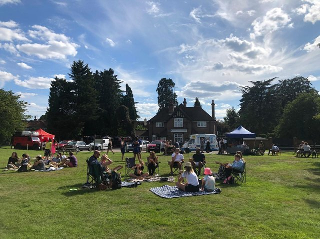 """The pub in Potten End received the most nominations. Clare Levy said: """"Most definitely the most missed is Martins Pond! They saved our summer. Ice-cream van, pizzas and the whole green became our pub garden. Counting down the days to have them back!"""" (C) Clare Levy"""