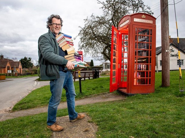 A book exchange is a popular re-use for old phone boxes