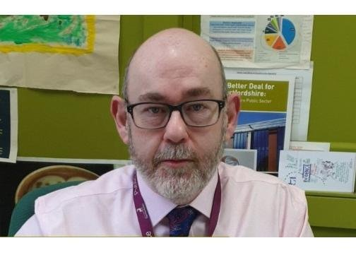 Jim McManus, Director of Public Health for Hertfordshire County Council