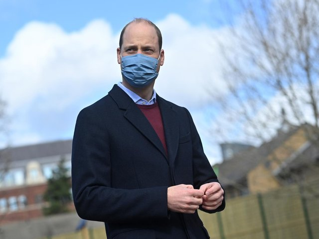 Duke of Cambridge paid tribute to the hard work of NHS staff in East of England