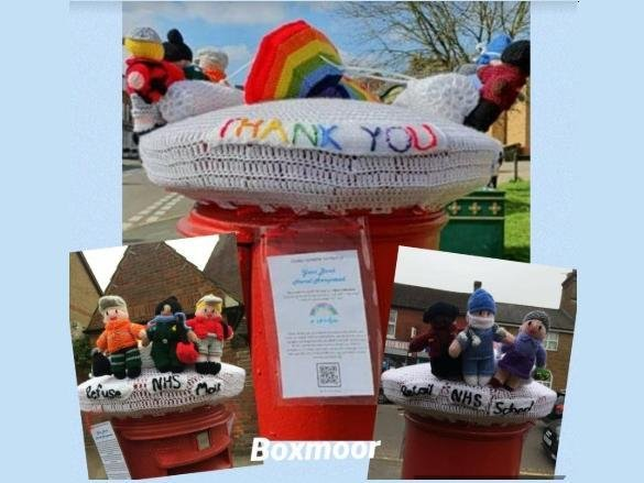 Have you seen the postbox toppers in Hemel Hemsptead?
