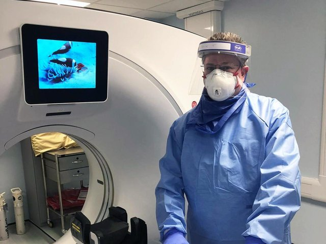 Nick Tessier is a Superintendent Radiographer atWatford General Hospital