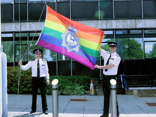 Chief Superintendent Matt Nicholls and Inspector Steve