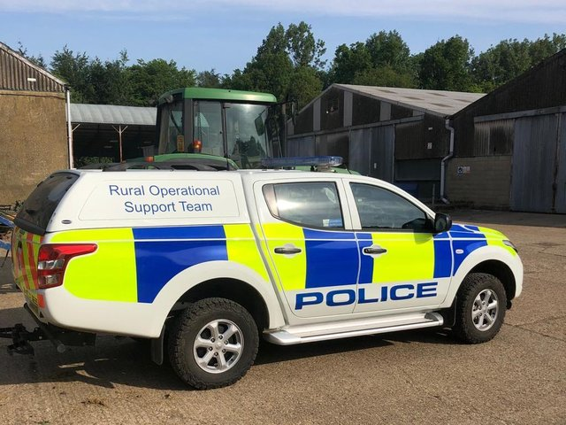 Hertfordshire Police's Rural Operational Support Team is calling on dog owners to ensure their pets are kept under control at all times while out walking