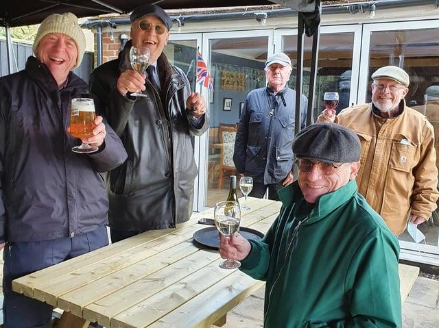 Customers return to Martins Pond