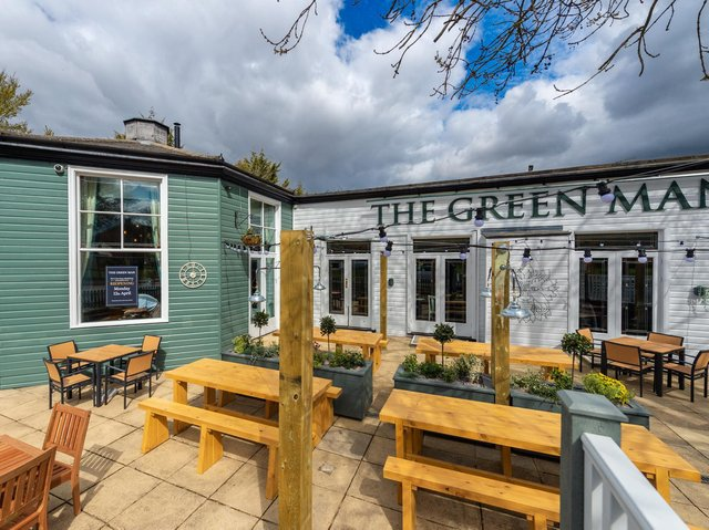 The Green Man in Hemel Hempstead is ready to reopen after £360,000 investment during lockdown