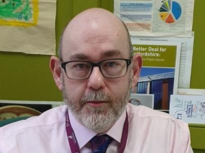 Jim McManus, Director of Public Health for Hertfordshire