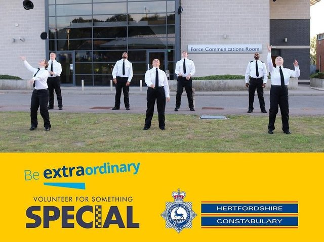 Virtual information evening for those aspiring to join Hertfordshire's Special Constabulary