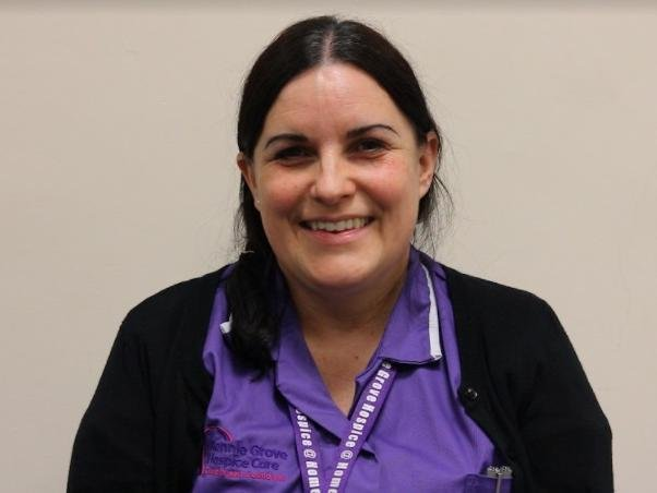 Emma, a hospice at home nurse