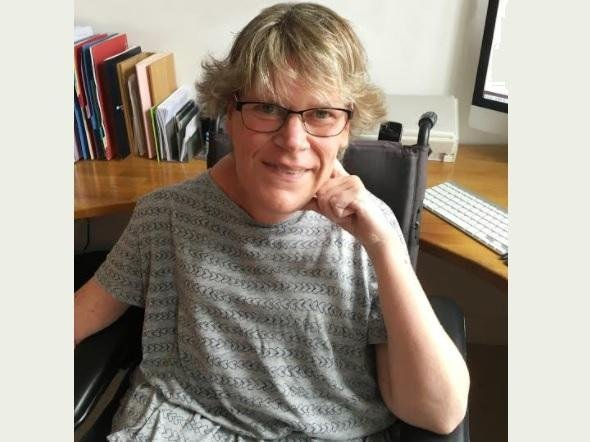 Katy Etherington, founder of the not-for-profit website for disabled people and personal care assistants, PA Pool
