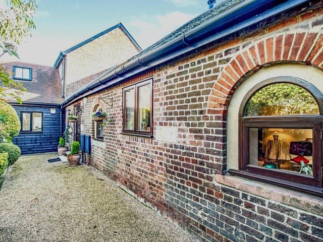 This barn conversion in Hemel Hempstead is on the market for £700,000