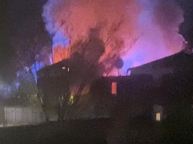 Neighbour describes hearing 'sound of an explosion'