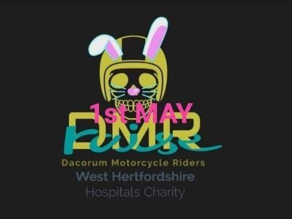 Dacorum Motorcycle Riders are planning to make the journey dressed as 'Bunnies on Bikes' on Saturday