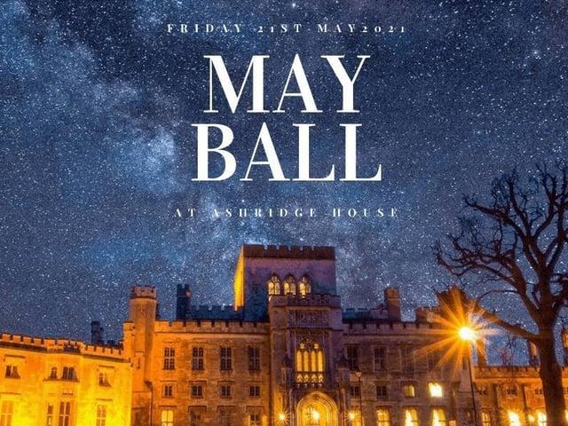 Ashridge House May Ball