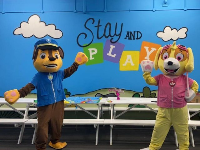 Stay and Play already has a venue in Aylesbury's Hale Leys Shopping Centre