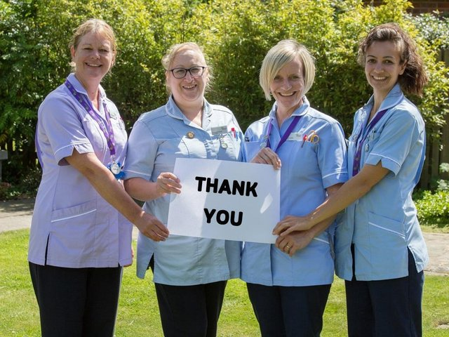 The Hospice Lottery Partnership supports The Hospice of St Francis, West Herts Hospital charity and Rennie Grove