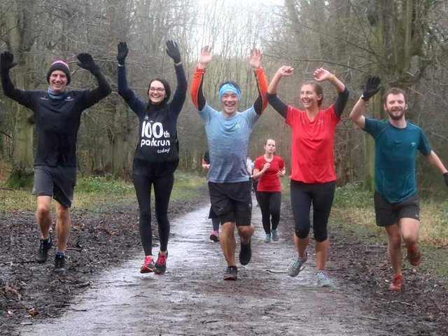 Tring parkrun before the pandemic