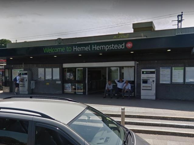 Hemel Hempstead train station
