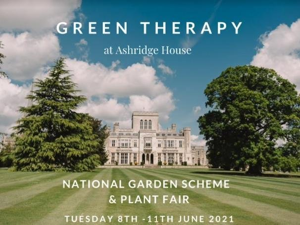 Spectacular gardens at Ashridge House will be open for the National Garden Scheme