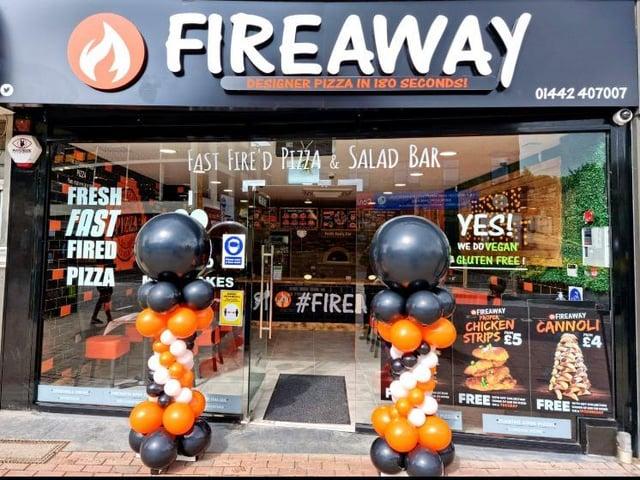 Fireaway Pizza opens in Hemel Hempstead