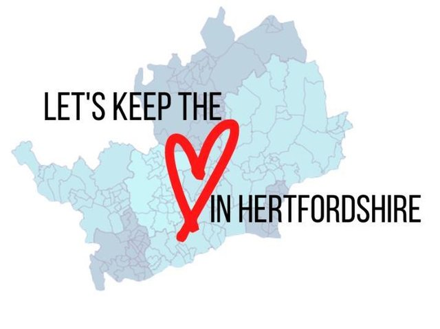 'Let's Keep the Heart in Hertfordshire' campaign