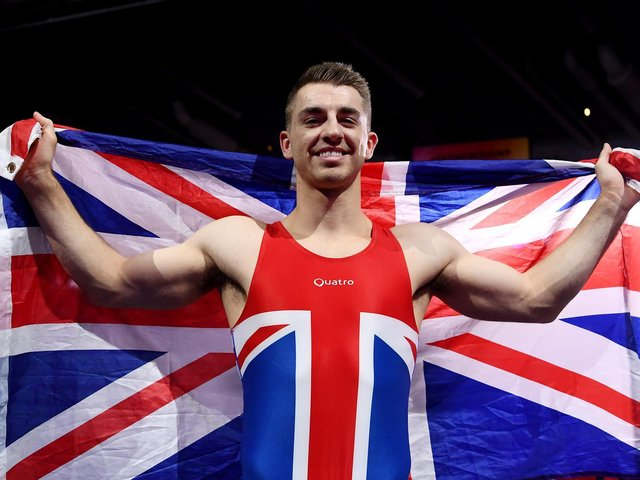 Hemel Hempstead's Max Whitlock is set for a third Olympic Games in Tokyo this summer