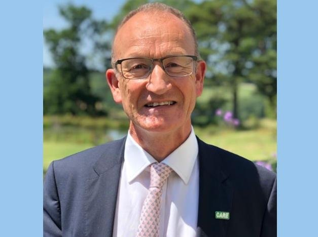 Newly elected council leader Cllr Richard Roberts