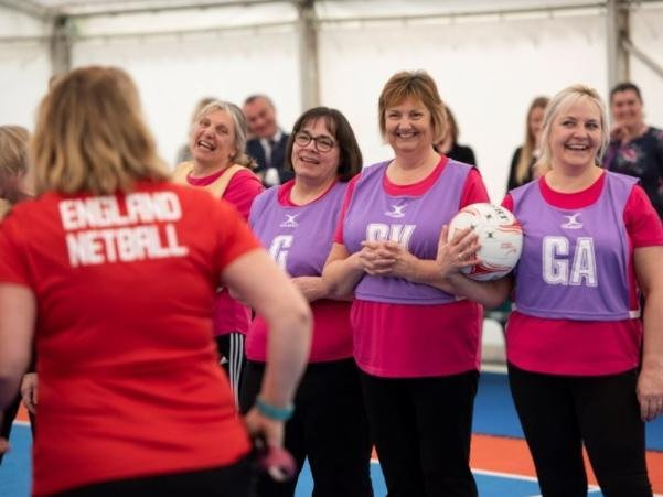 Age UK Dacorum teams up with England Netball to encourage people to try Walking Netball