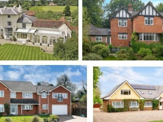 These are 16 of the most expensive houses for sale in Dacorum as property prices continue to rise