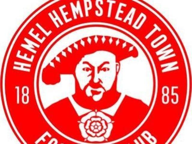 The new Hemel Hempstead Town club badge