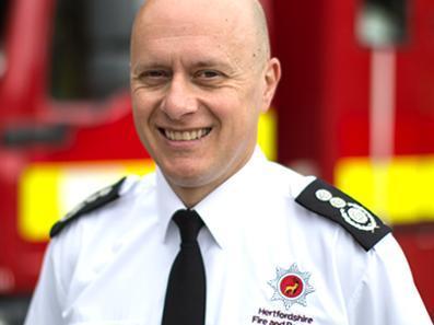 Chief fire officer Darryl Keen
