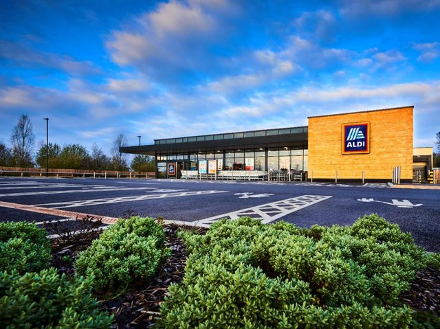 Stock image of an Aldi store