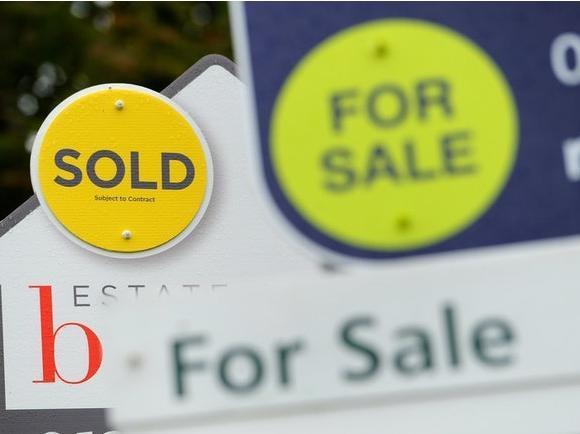 House price stock image