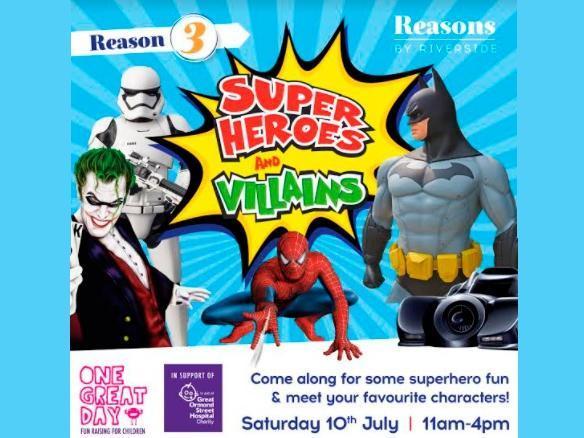 Superheroes and Villains set to land in Hemel Hempstead next month