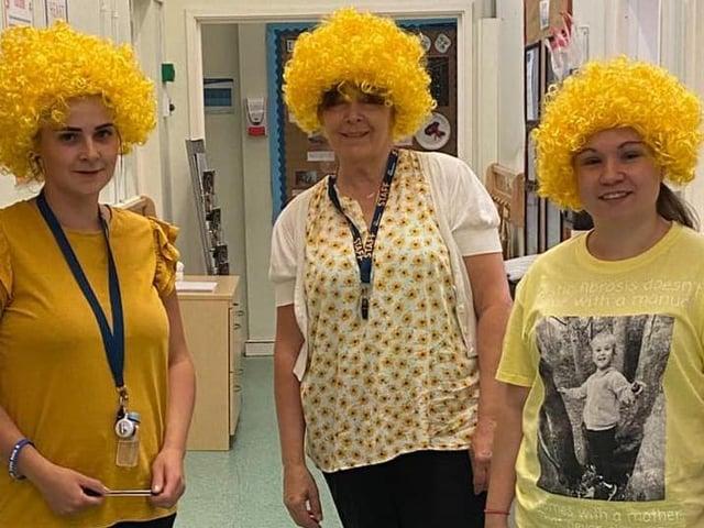 Nursery staff support Cystic Fibrosis Trust