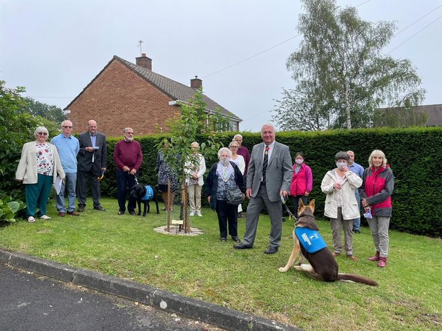 A dedicated memorial service was held on Sunday to mark the occasion